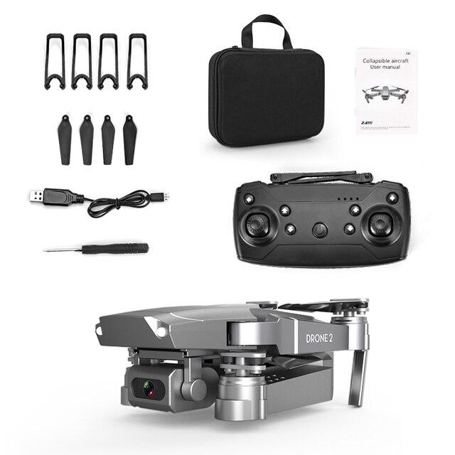New E68 WIFIWide Angle HD 4K 1080P Camera Hight Hold Mode RC Foldable Quadcopter Drone 1