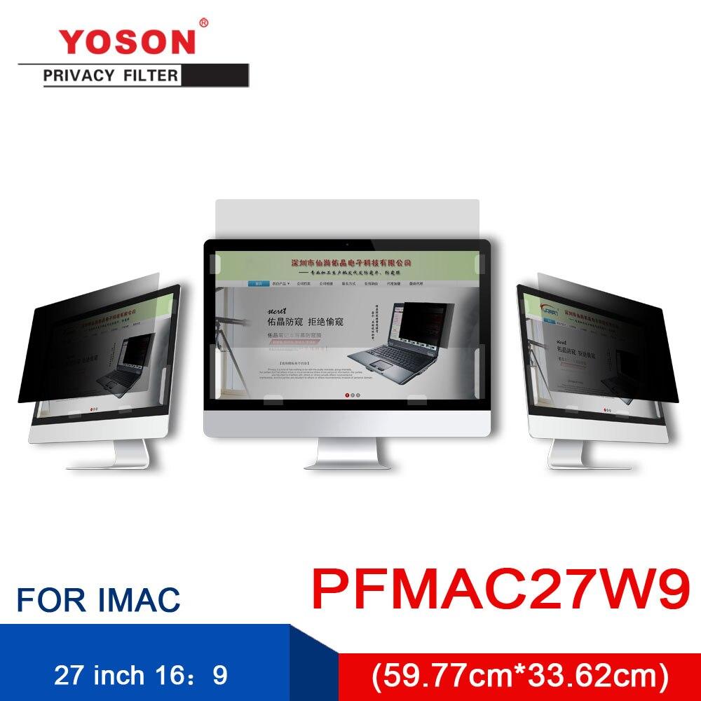 YOSON MAC 27 Inch Widescreen 16:9 LCD Monitor Special Privacy Filter/anti Peep Film / Anti Reflection Film / Anti Screen