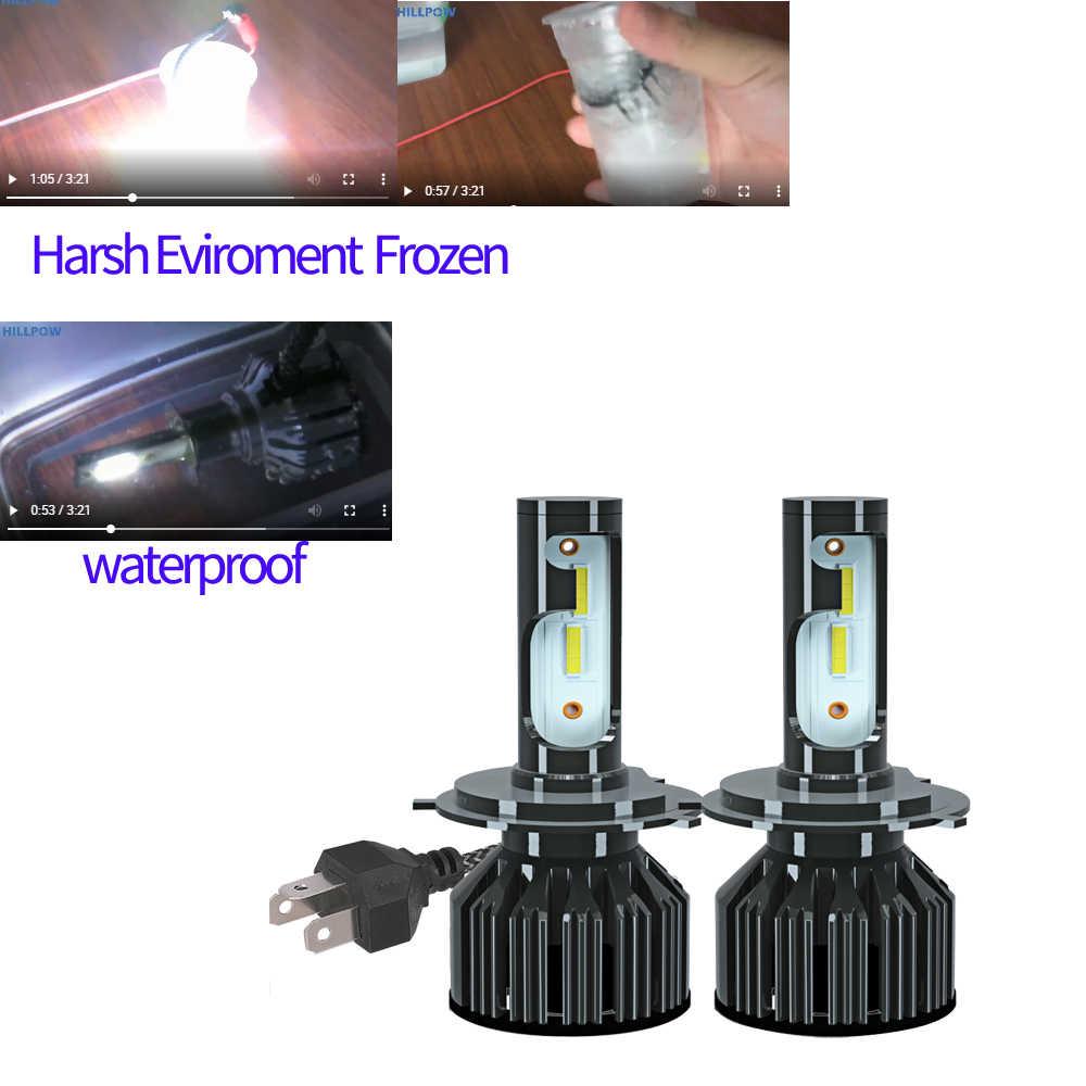 Infitary H7 LED H4 Faro H1car lampada H11 faro H3 H13 9005 HB3 9006 HB4 9004 9007 1800 chip di Luce 72W 10000LM 12V 6500K