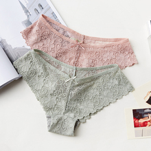 BEFORW Sexy Lace Panties Women Fashion Cozy Lingerie Tempting Pretty Briefs High Quality Cotton Low Waist