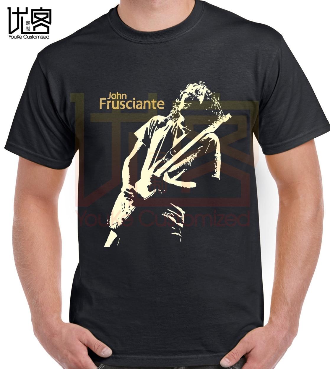 John Frusciante T-shirt Men's Women's New Fashion Crewneck 100% Cotton Short Sleeves Tops Tee Printed Unisex Casual T-shirt