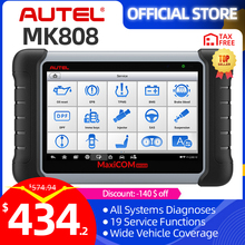 Autel MaxiCOM MK808 OBD2 Car Diagnostic Tool OBD 2 Automotive Scanner IMMO EPB SAS BMS TPMS DPF Service PK MD802 MaxiCheck Pro