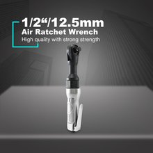 1/2 3/8 Square Reversible Air Ratchet Wrench 85N.M Powerful High Torque Spanner Small Wind Gun Pneumatic Tools