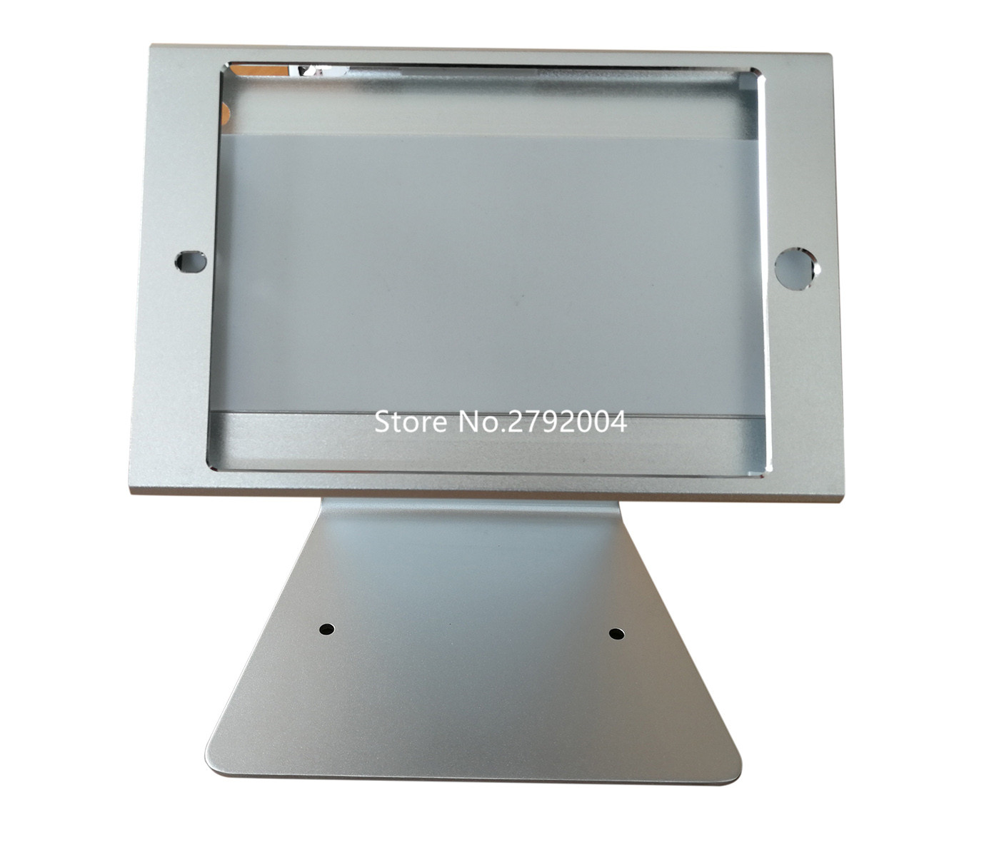 Restaurant Ordering System Locked For Ipad Mini Table Stand Tilt Up And Donw Tablet Enclosure