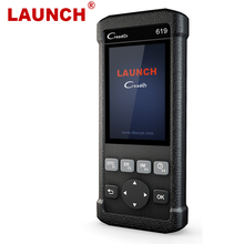 LAUNCH X431 CR619 OBD2 Automotive Scanner ABS Airbag SRS Scanner obd 2 Engine Code Reader LAUNCH Car Diagnostic Tool Free Update
