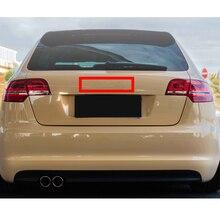Emblem Logo Glossy Black for Audi A3 A4 A4L A6L TT Q3 Q5 Q7 A5 A7 RS3 RS4 RS5 RS6 Front Middle Rings Grille Badge Trunk Sticker накладки на педали audi q5 a4l a5 a6l a3 a7