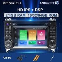 2 din Android 10Car Multimeida for Mercedes Benz B200 A B Class Sprinter W906 W169 W245 Viano Vito W639 b170 RadioGPS Navigation