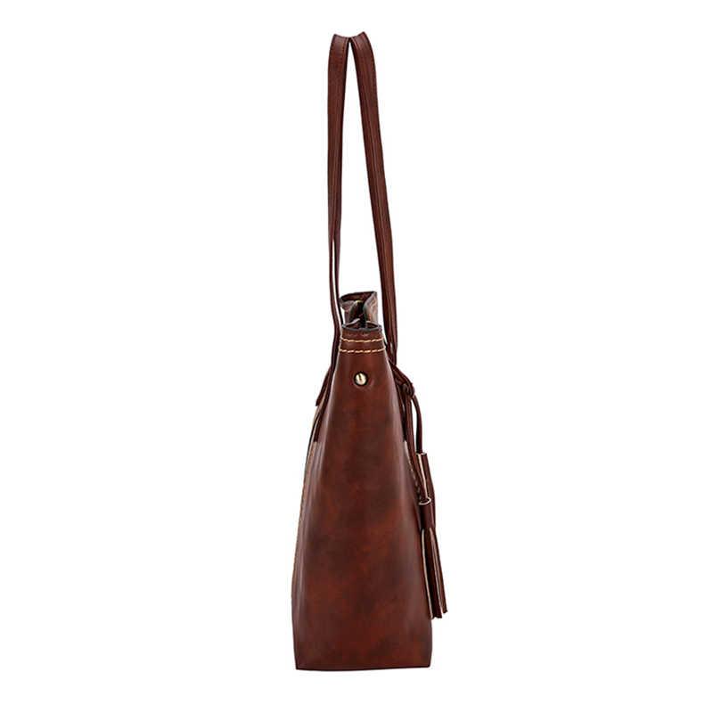 Роскошная брендовая дизайнерская женская сумка, модная женская сумка, сумки на плечо из искусственной кожи, Женские винтажные сумки-мессенджеры большой емкости 2020