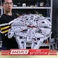 05132 ultimative Millennium Star Wars Serie Falcon Modell Bausteine Set Sterne Schiff 75192 Spielzeug Sammler Ziegel Kinder Geschenk