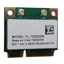 MC-AC7265 Mini PCI-E гигабитный двухдиапазонный Bluetooth 4,2 Беспроводной сетевая карта «Все-в-одном» сетевая карта