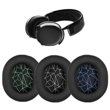 1 Pair  Ear Pads For Arctis 3 5 7 Pro Gaming Headset Foam Earpads Ear Pads Sponge Cushion Replacement Elastic