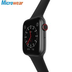 Смарт-часы Microwear iwo 8 Lite/ecg ppg с частотой сердечных сокращений W34 Часы smartwatch iwo 12 44 мм IWO W26 Смарт-часы для мужчин для Android IOS