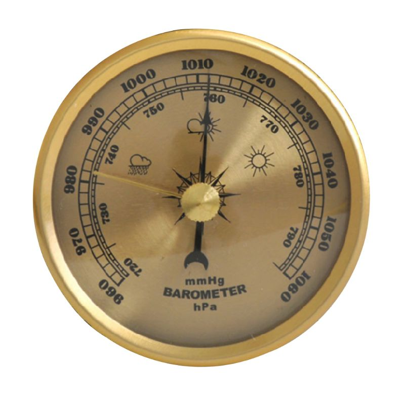 Household Barometer Pressure Gauge Weather Station Wall Hanging Atmospheric Multifunction Thermometer Hygrometer