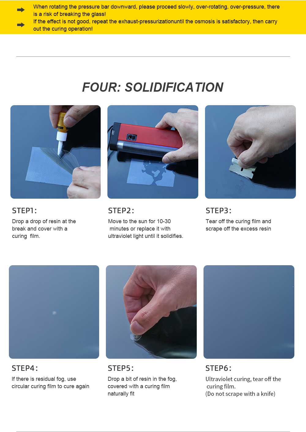 Windshield Repair Kit to Restore Car Glass Scratch and Crack with Polishing Sealer 20