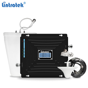 Image 1 - Lintratek tri band repetidor 850mhz CDMA 1800 2100 2G 3G 4G repeater GSM UMTS LTE 1800 4G booster mobile signal amplificador #5
