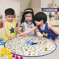 Family Game Funny Desktop Little Detective Finding Figure Puzzle Brain Reaction Training Game Toys Parenting Games For Gift