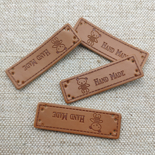 handmade labels with lovely bear for needlework clothing sewing hand made tags with bear logo for clothes gift handmade label win win logo hand made leather labels for gift sewing win logo hand made tags for clothes gift handmade leather sewing label