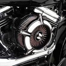 Motorrad Luftfilter Reiniger für Harley Davidson Sportster XL 883 1200 XL883 XL1200 1991 2016