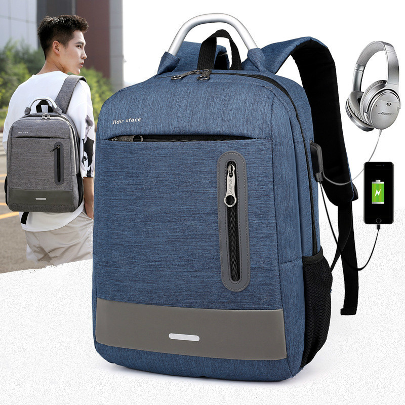 Backpack Bag Canvas Laptop Casual Male No Mochila Notebook Brand