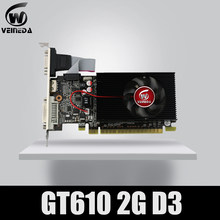Veineda ekran vga kartları GT610 2GB DDR3 700/1000MHz nVIDIA Geforce oyun PC(China)