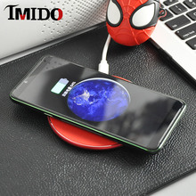 IMIDO 10W Fast Wireless Charger For iphone 11 Caricatore senza fili Desktop pad samsung xiaomi huawei lg google asus