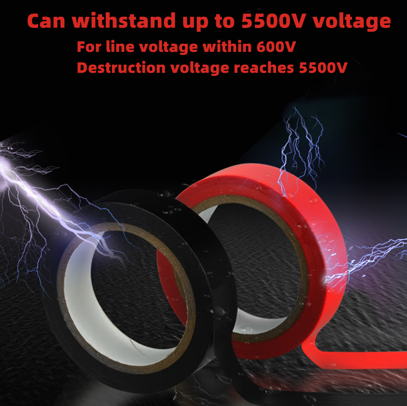 Electrical tape,insulationtape,flame-retardant and wear-resistant electrical tape,ultra-thin and super sticky PVCwaterproof tape