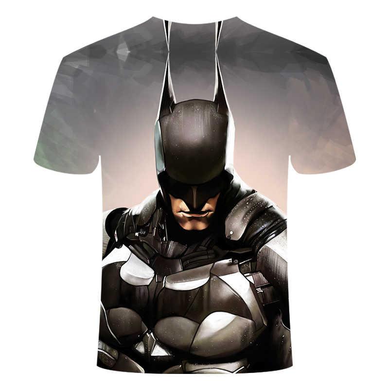 Marvel Batman Đội Trưởng Mỹ Áo Thun Hot Siêu Nhân Áo Nam Joges 2020 Siêu Anh Hùng Áo Thun Mùa Hè Quần Áo