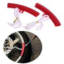 1 пара защитных краев обода колеса мотоцикла автомобиля обода колеса защитный чехол для шин сменный инструмент для демонтажа