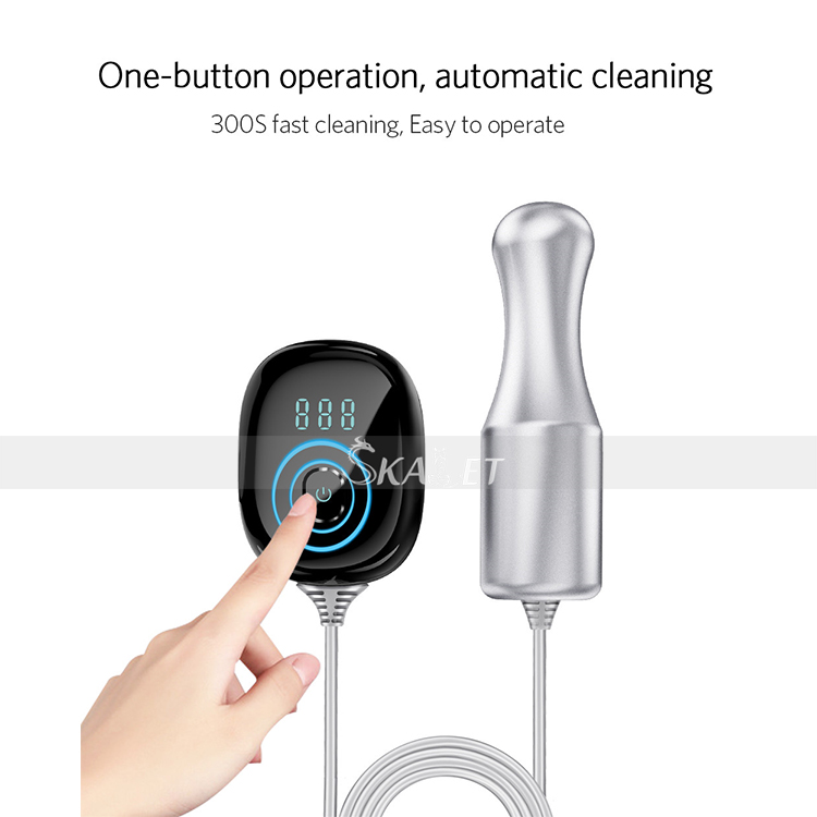 Portable 100W Split Ultrasonic Cleaning Rod Cleaner Stick Jewelry Teeth Dental Tableware Baby Toys Washer Ultrasound Equipment
