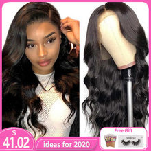 Peruvian Body Wave Wig Lace Front Human Hair Wigs
