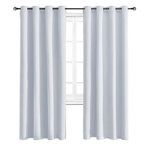 Solid Blackout Curtains For th