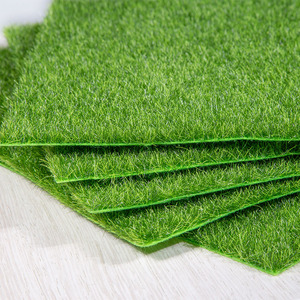Image 3 - Artificial Moss Turf Lawns Green Plants DIY Micro Landscape Decoration Fake Grass Lawn for Home Mini Garden Floor Accessories