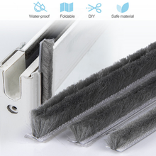 10M Door Window Card Slot Sealing Strip Soundproof Seal Weather Stripping Burlete Puerta Mousse Acoustique Windows Gap Filler