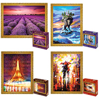Jigsaw Picture Puzzles 1000 Pieces Landscape Puzzle Adult Stress Release Toye Ducational Toys For Children Kids Games Toys Gift
