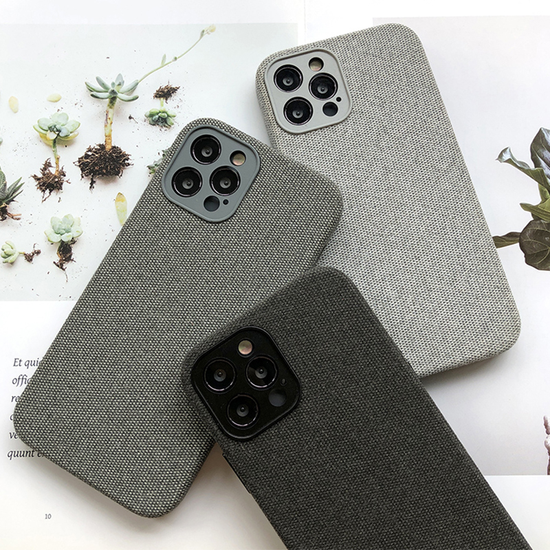 Case For Iphone 12 Soft Suede Leather Case For Apple Iphone 11 Pro 12 Pro Max 12 Mini Case Anti-Knock Full Protection Back Cover