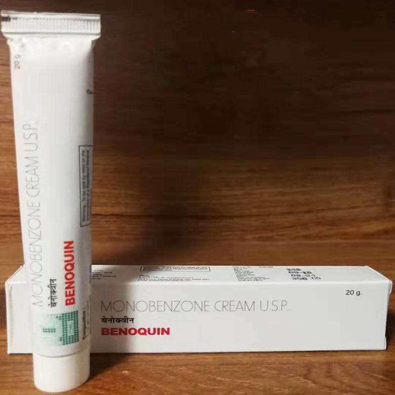 Spot Genuine Mono Benzo BB Bleaching Cream Monobenzone Benoquin Cream 20% 20g