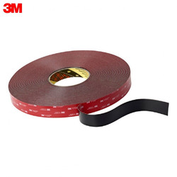 Cinta Nano 3M 5952F 19MMX3M material de oficina escuela cintas adhesivas sujetadores cinta de montaje Universal, negro 5952F