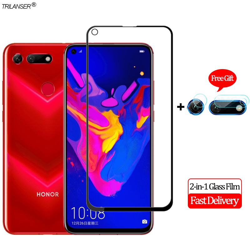 2-in-1 Camera Len Glass Film Honor View 20 Screen Protector Protective 10 Tempered