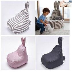 Dibujos Animados bebé bolsa de frijoles sofá silla infantil sofá perezoso niños Sillas sofá, asiento, silla muebles para el hogar sala de estar sofá silla sillón