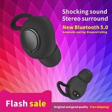 2019 Newest Stereo Surround Bluetooth Earphone  In-Ear Wireless Blueto