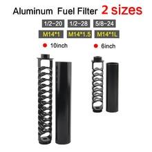 Filtre à solvant en aluminium à noyau unique, piège à solvant pour NAPA 1/2 WIX 1/2, 5/8-20 4003-28 24003-24 6 pouces 10 pouces
