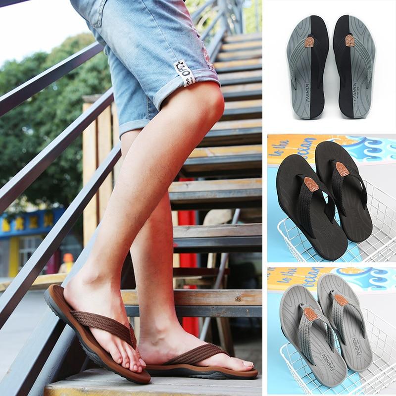 Men Flip Flops Summer Breathable Sandals Shoes For Men Non-slip Rubber Soles Slippers Fashion Outdoor Casual Shoes Big Size 47 6