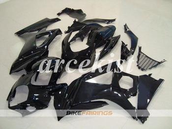 New ABS Motorcycle Full Fairings Kit Fit For SUZUKI GSX-R1000 GSXR1000 2007 2008 07 08 K7 body set Black
