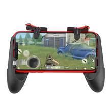 Mando para teléfono móvil 5 en 1 para PUBG, botón de disparo, mando izquierdo/derecho