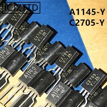 A1145 C2705 A1145-Y C2705-Y 2SA1145 2SC2705 2SA1145-Y 2SC2705-Y nuevo-92 Original TO92