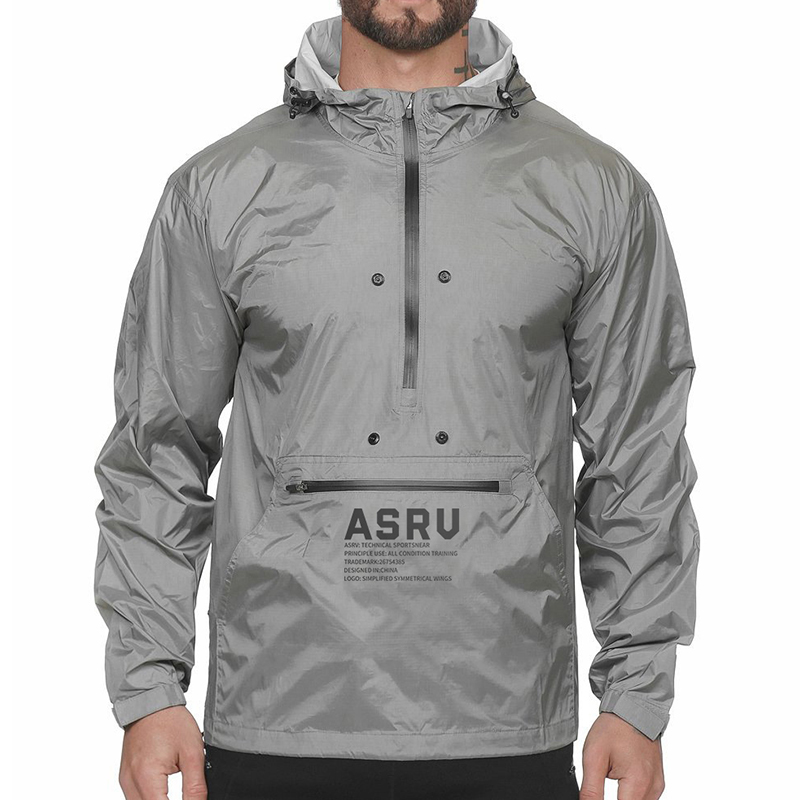 Running Outdoor Hooded Jacket for Men Mens Clothing Jackets & Hoodies