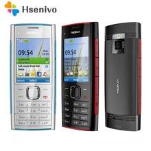 Nokia x2 remodelado-original unlokced nokia x2 X2-00 bluetooth fm java 5mp desbloqueado telefone móvel um ano de garantia