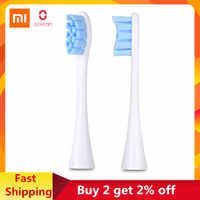 2pcs Original 01 Oclean Replacement Brush Head for Oclean Z1 / X / SE / Air / One Electric Toothbrush from 01 youpin