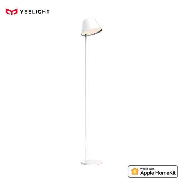 Yeelight lampe LED intelligente autoportante, lumière à intensité réglable, contrôlable à distance via application mobile via wi fi, idéal pour la maison et Apple Homekit, 12W