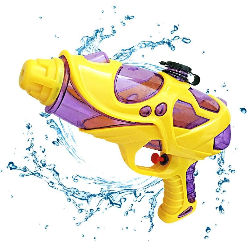 cheapest 33cm 2018 Summer Water Guns Kids Toys Pistol Blaster Outdoor Games Swimming Pool Shark Crocodile Squirter Toys For Children